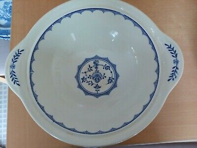 Rare Ridgway Pottery Serving Dish Blue Danish In Very Good Condition • 9.50£
