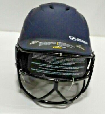 $8 • Buy Boombah Defcon Jr. Fastpitch Softball Helmet 6 1/4  To 7  Blue