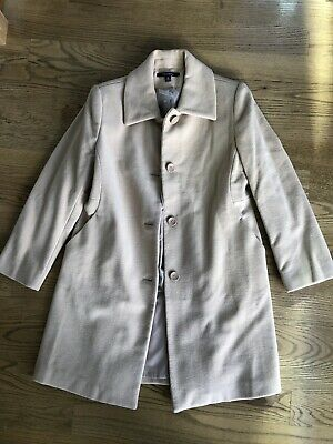 £35.79 • Buy Women's Wool Coat Chadwicks Tan Beige Size 6P Petite 3/4 Length New Without Tags