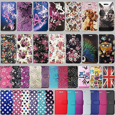 NEW Flip Wallet Leather Cover Case For Apple IPhone 5 5S SE 6 6S 7 & Plus Models • 3.96£