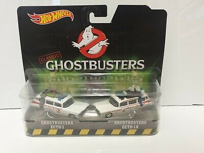 Hot Wheels Ghostbusters Ecto-1 Ecto-1A Twin Pack Damaged Card VHTF Afterlife  • 19.99£