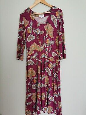 Brora Dress Size 14 Perfect For Autumn Winter Spring • 7£