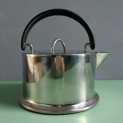 Bodum Stove Top Kettle - C Jorgensen - Made In Italy - Stainless Steel • 30£