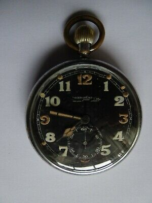 Antique Military WWII Pocket Watch   JAEGER LECOULTRE   Running Fine   • 209.99£