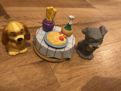 Lady & The Tramp Disney Fisher Price Little People Toys And Figures  • 11£
