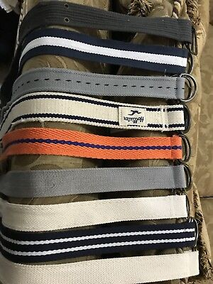 $39.99 • Buy Lot Of 9 Kids/Teenagers Webbing Belts Multi Color,Design /Lengths New W/o Tags