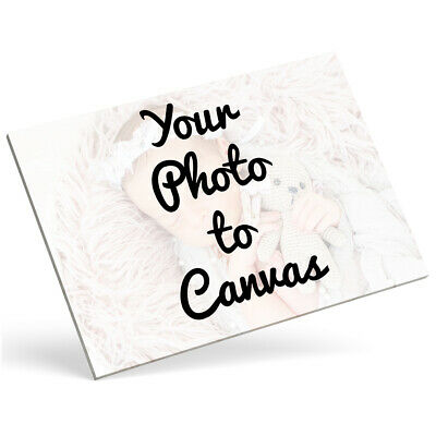 Personalised Photo Canvas Picture Photo Canvas Print Wall Art Photo Canvas Frame • 7.99£