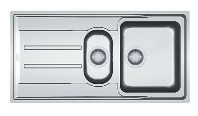 Franke Aton Polished Stainless Steel 1.5 Bowl Sink & Drainer • 199.99£
