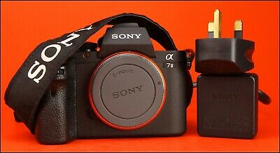 View Details Sony Alpha A7 II Compact Mirrorless Camera Body With Battery & Charger 103 Shots • 371.50£