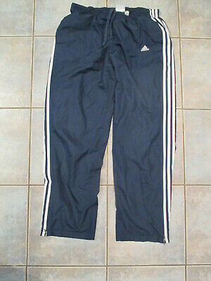 $ CDN15.99 • Buy VTG Men's Adidas Windbreaker Track Pants Size Large Blue 3 Stripes