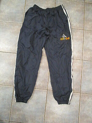 $ CDN16.99 • Buy VTG Adidas Lined Windbreaker Track Pants Mens L/XL Basketball Logo