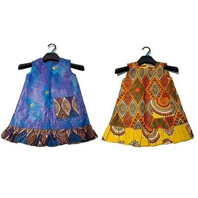 Girl African Dress Child African Dress Girl Summer Dress Beach Dress Girl Kente • 16.99£
