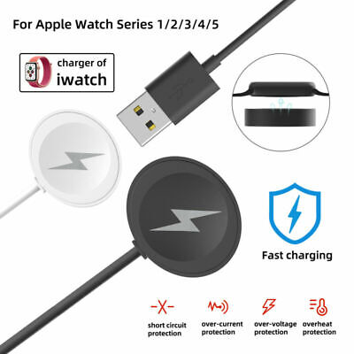 $ CDN10.70 • Buy For Apple Watch IWatch Series 5/4/3/2/1 Magnetic Charging Dock USB Charger Cable