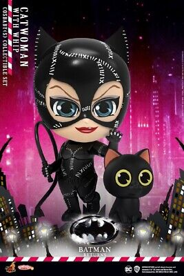 $ CDN46.30 • Buy Pre-order Hot Toys Cosbaby COSB716 Batman Returns Catwoman W/Whip Action Figure