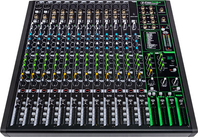 $499.99 • Buy Mackie ProFX16v3 16-Channel Professional Effects Mixer W/ USB & FREE Pro Tools®