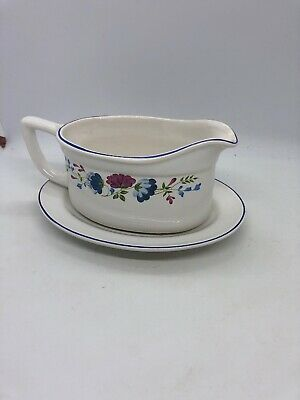 £9.25 • Buy Bhs -  Priory - Gravy Boat And Dish
