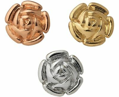 Set Of 3 Instant Buttons Sewing Haberdashery Craft Accessories Floral Scarf Pin • 9.95£