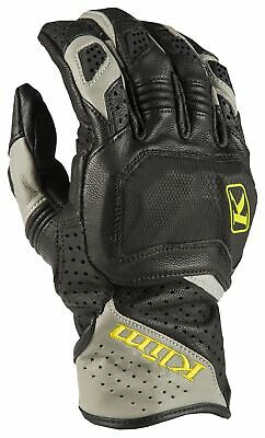 $ CDN243 • Buy Klim Badlands Aero Pro Short Gray Motorcycle Gloves- Free Shipping!