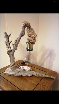 Driftwood (hand Made) Lamps • 50£