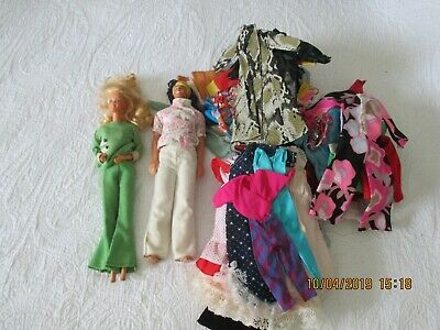 $ CDN33.08 • Buy Vintage  Barbie Ken Clothes 70  Items Lot