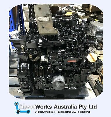 AU2450 • Buy Yanmar 3TNE66 Fully Reconditioned Engine - 12 Month Wty - Exchange Or Rebuild