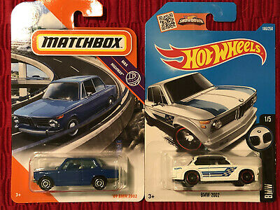 $4.99 • Buy Hot Wheels Lot Of 2 69 BMW 2002 Matchbox Combo Blue & White Variation