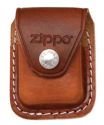 $7.50 • Buy Zippo LPCB,  Lighter  Brown Leather Pouch  W/Belt Clip