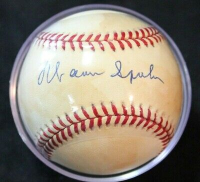 $ CDN75 • Buy Warren Spahn Signed Autographed Official National League Baseball