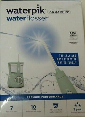 View Details Waterpik Flosser Electric Dental Countertop Oral Irrigator Mint  WP-668 SEALED • 56.99$