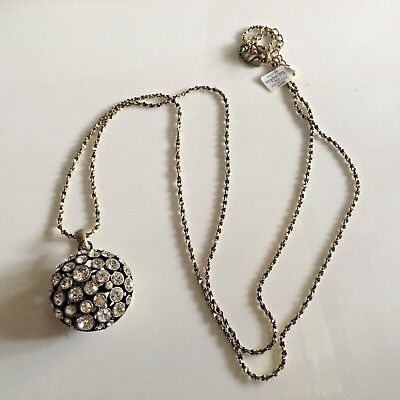 $ CDN24.43 • Buy Lia Sophia Kiam Family SOPHIA 40   Long Necklace, Sparkling Cut Crystals, NWT