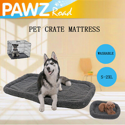 AU24.99 • Buy Pet Dog Crate Mattress Cage Kennel Cushion Bed Large Dog Washable Soft Pad S~2XL