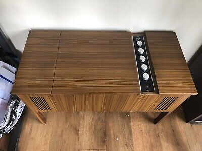 Vintage HMV Stereo Record Player - Model No 2417. Year 1971.  • 350£