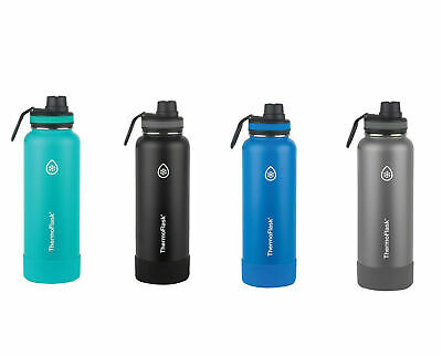 AU49.88 • Buy New ThermoFlask Double Wall FLASK Stainless Steel Water Bottles 1.1L Thermos