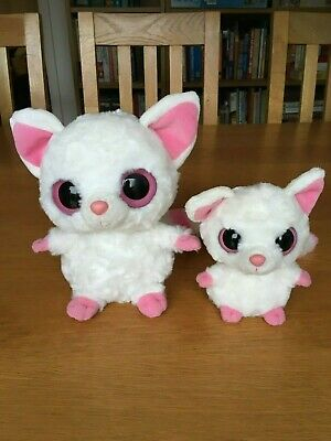 YooHoo And Friends Pammee - Fennec Fox - Pair (approx 20cm And 14cm / 7  And 5 ) • 12£