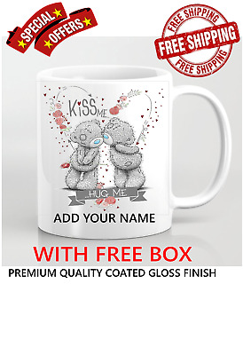 £8.99 • Buy Me To You Tatty Teddy Bear Personalised Mum Daughter With Love Mug Cup Gift