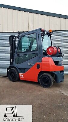 £7850 • Buy 2014 TOYOTA 8FBET15 1500kg ELECTRIC TRUCK FORKLIFT 3300mm CONTAINER SPEC