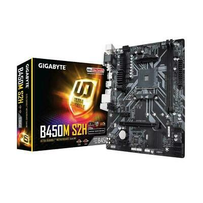 AU132.50 • Buy Gigabyte B450M S2H Ryzen AM4 Socket MATX Gaming Motherboard 2xDDR4 M.2 HDMI