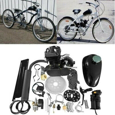 $ CDN210.90 • Buy Updated 2 Stroke 80cc Bike Motor Engine Kit For Motorized Bicycle DIY US Silver