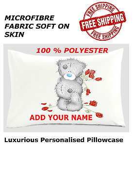 £5.99 • Buy Personalised Me To You Tatty Teddy Handmade Cushion Cover/Pillow Case 48x75 Cm