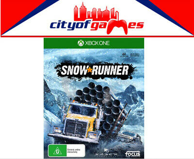 AU79.95 • Buy SnowRunner Xbox One Game Brand New In Stock