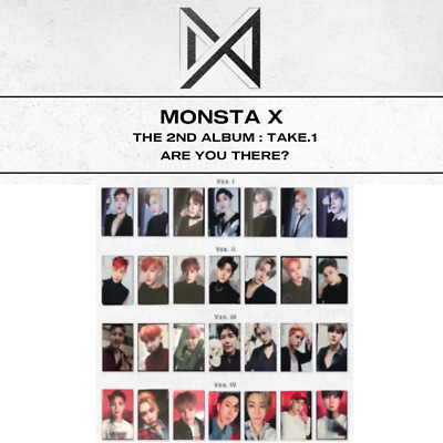 $ CDN12.12 • Buy Monsta X - 2nd Album Take.1 Are You There? Photo Card & Group Photo Card Set