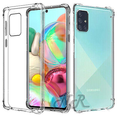 AU4.99 • Buy For Samsung Galaxy S20 Plus Ultra A71 A51 A11 A21S Clear Case Heavy Duty Cover