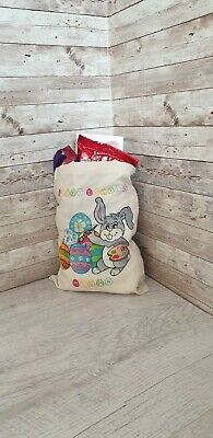 Personalised Name Easter Treats Bunny Egg Hunt Gift Ideas Gifts Tote Bag Kids • 3.50£