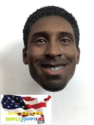 $31.49 • Buy Custom 1/6 NBA Kobe Bryant Head Sculpt For Hot Toys Enterbay Phicen ❶USA❶
