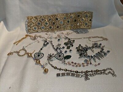 $ CDN6 • Buy Vintage Jewelry And Parts Lot For Project Or Fabrication
