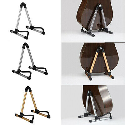 $ CDN29.40 • Buy New Acoustic Electric Guitar Folding A-Frame Holder Display Metal Storage Stand