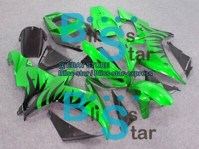 $495 • Buy Green INJECTION Fairing Plastic Fit Yamaha YZF-R1 2002-2003 044 A7