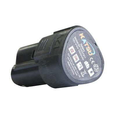 Cordless Drill Replacement Battery 12V  For  KATSU 102373 • 9.99£