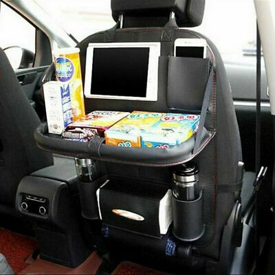 $18.28 • Buy Leather Car Seat Back Holder Organizer Storage New Auto Bag Accessory Black