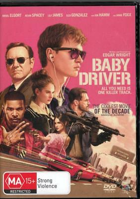 AU9.74 • Buy Baby Driver - Kevin Spacey - New & Sealed Region 4 Dvd